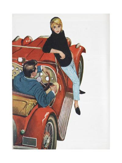 Illustration from a Women's Magazine, 1959--Giclee Print
