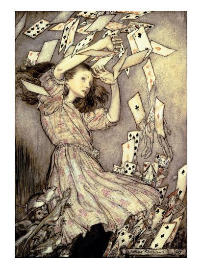 Illustration from 'Alice's Adventures in Wonderland' by Lewis Carroll-Arthur Rackham-Giclee Print