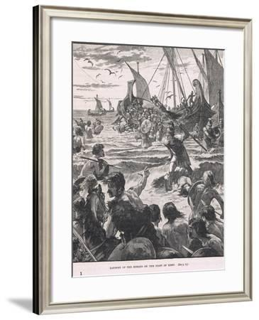 Illustration from 'Cassell's History of the British People', C.1910--Framed Giclee Print