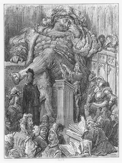 Illustration from 'Gargantua and Pantagruel'-Gustave Dore-Giclee Print