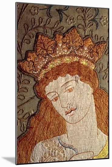 Illustration from Geoffrey Chaucer's Legend of Good Women, c.1875-William Morris-Mounted Giclee Print