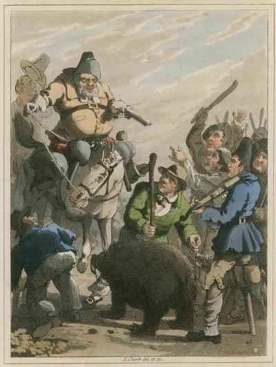 Illustration from Hudibras by Samuel Butler-I Clark-Giclee Print