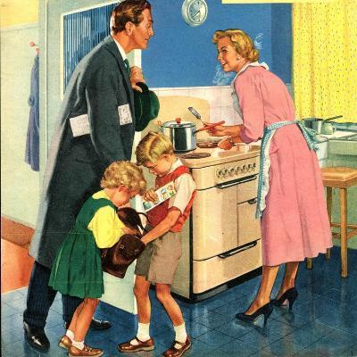 Illustration from 'John Bull', 1950S--Giclee Print