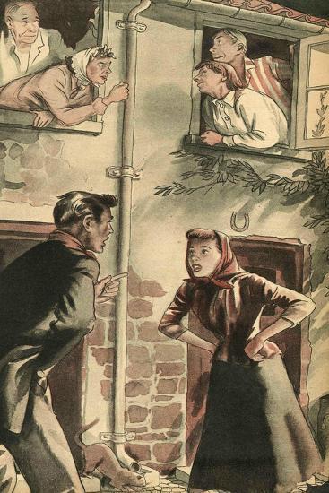 Illustration from 'John Bull', 1952--Giclee Print