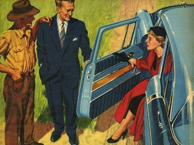 Illustration from 'John Bull', 1956--Giclee Print