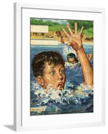 Illustration from 'John Bull', 1959--Framed Giclee Print
