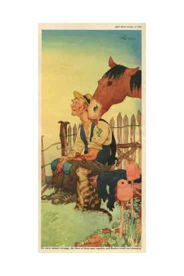 Illustration from 'John Bull', October 1950--Giclee Print