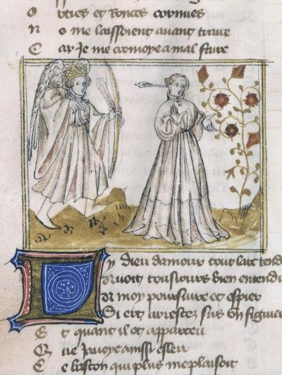 Illustration from Le Roman de La Rose--Giclee Print