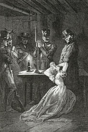 Illustration from Les Misérables, 19th Century-Alphonse Marie de Neuville-Giclee Print