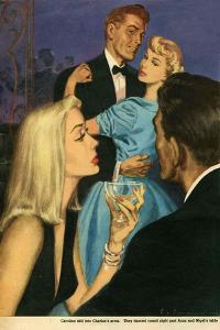 Illustration from Magazine, 1951