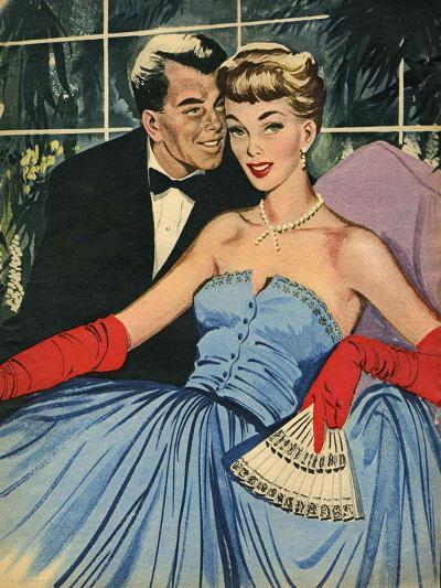 Illustration from Magazine, 1951--Giclee Print