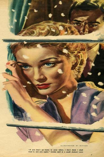 Illustration from Magazine, 1952--Giclee Print