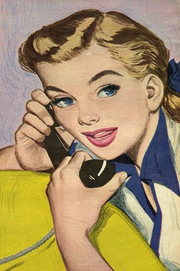 Illustration from Magazine, 1952--Giclee Print