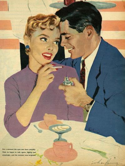 Illustration from Magazine, 1958--Giclee Print