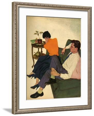 Illustration from Magazine, 1959--Framed Giclee Print