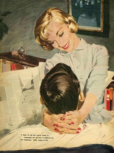 Illustration from Magazine, 1959--Giclee Print