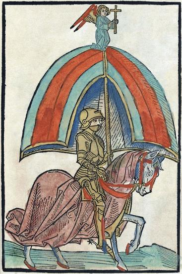 Illustration from Richental's Illustrated Chronicle, 1480S--Giclee Print