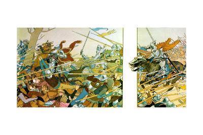 Illustration from the Book La Vie De Jeanne D'Arc, 1896-Louis Maurice Boutet De Monvel-Giclee Print