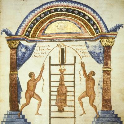 Illustration from the Commentaries by Apollonio from Chiton on a Hippocratic Treaty--Giclee Print