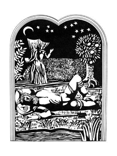 Illustration from the Decameron, 1978-Alexander Ponomarev-Giclee Print