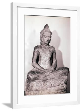 Illustration from the Life of the Buddha--Framed Giclee Print