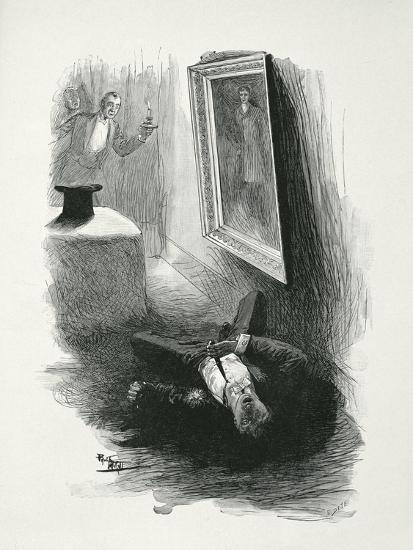 Illustration from The Picture of Dorian Gray by Oscar Wilde-Paul Thiriat-Giclee Print