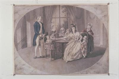 Illustration from 'The Sorrows of Young Werther'-Johann Heinrich Ramberg-Giclee Print