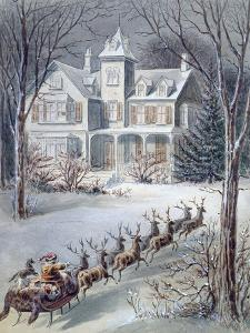 Illustration from 'twas the Night before Christmas' Written by Professor Clement Clarke Moore…