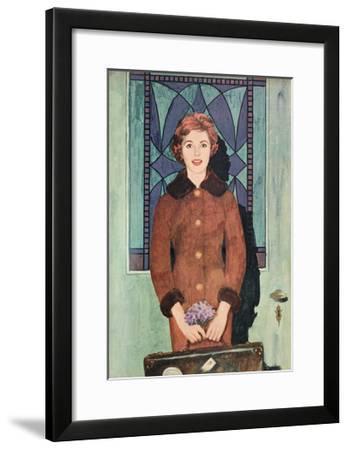 Illustration from 'Women's Realm' Magazine, 1959--Framed Giclee Print