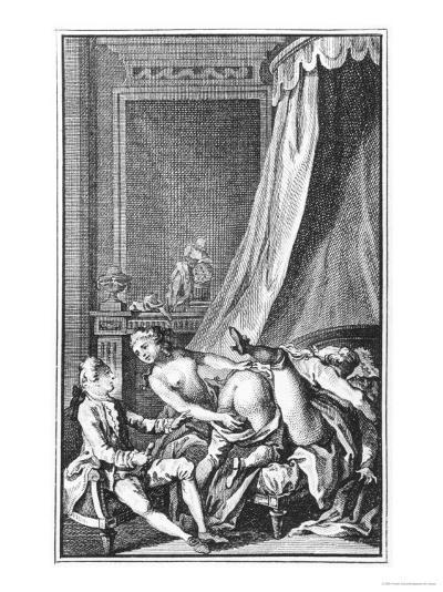 Illustration from Works by the Marquis De Sade--Giclee Print