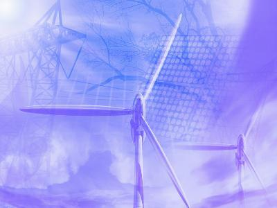 Illustration of Alternative Energy Sources-Carol & Mike Werner-Photographic Print
