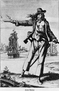 Illustration of Ann Bonney the Pirate