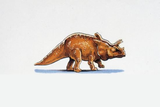 Illustration of Arrhinoceratops--Giclee Print