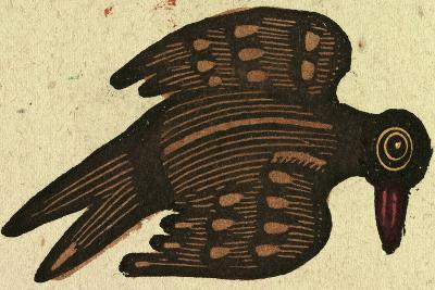 Illustration of English Tales Folk Tales and Ballads, a Bird--Giclee Print