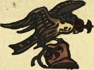 Illustration of English Tales Folk Tales and Ballads. a Hawk
