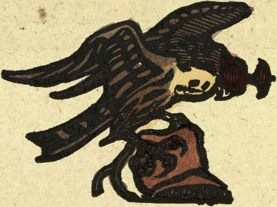Illustration of English Tales Folk Tales and Ballads. a Hawk--Giclee Print