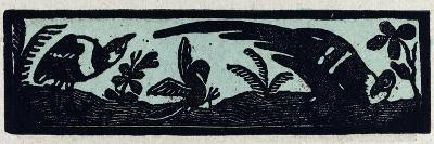 Illustration of English Tales Folk Tales and Ballads, Three Birds--Giclee Print