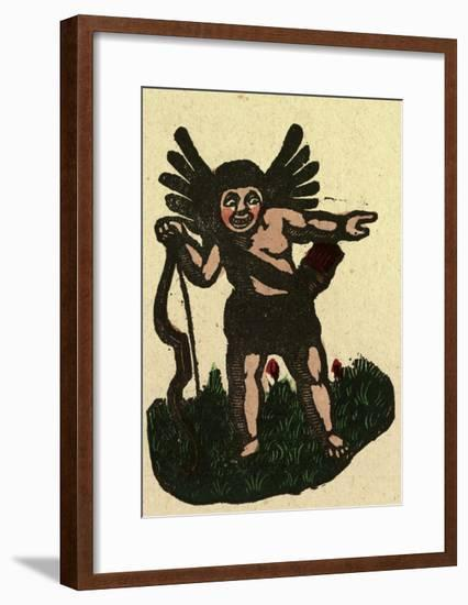 Illustration of English Tales Folk Tales and Ballads--Framed Giclee Print