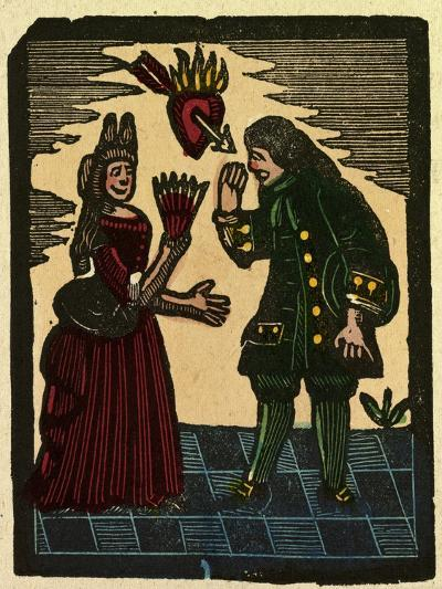 Illustration of English Tales Folk Tales and Ballads--Giclee Print