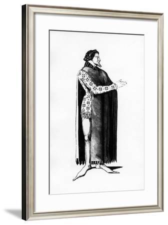 """Illustration Taken from """"Histoire Du Costume En France Depuis Les 18E Siècle""""--Framed Giclee Print"""