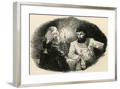 Illustration to Captain's Daughter-Aleksandr Pushkin-Framed Giclee Print