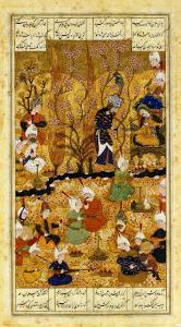 Illustration to the Shahnameh Shiraz, Persia Murhid Al Kabib Al Shirazi, 1539 AD