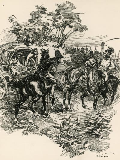 Illustration to War and Peace, by Leo Tolstoy--Giclee Print