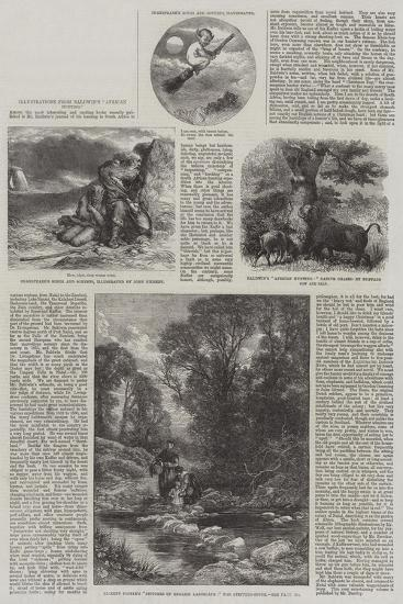 Illustrations from Baldwin's African Hunting-Sir John Gilbert-Giclee Print