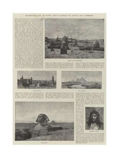 Illustrations from En Egypte, Notes Et Croquis D'Un Artiste-Charles Auguste Loye-Giclee Print