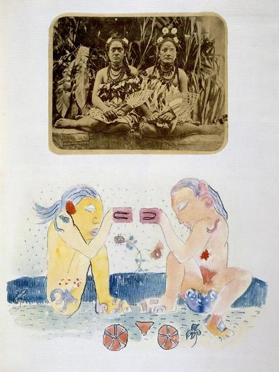Illustrations from Noa Noa, Voyage a Tahiti, Published 1926-Paul Gauguin-Giclee Print