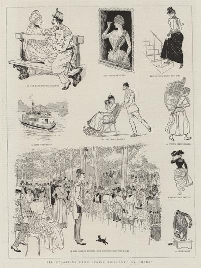 Illustrations from Paris Brillant--Giclee Print