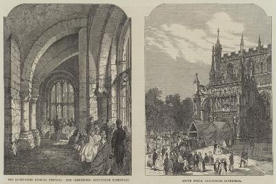 Illustrations of the Gloucester Musical Festival--Giclee Print
