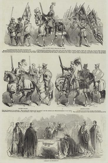 Illustrations of the Mayoralty--Giclee Print