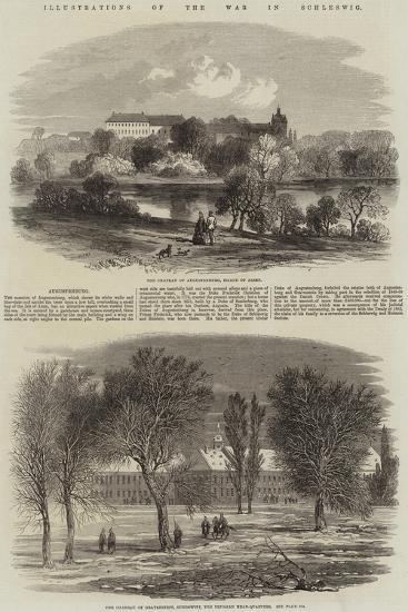 Illustrations of the War in Schleswig--Giclee Print